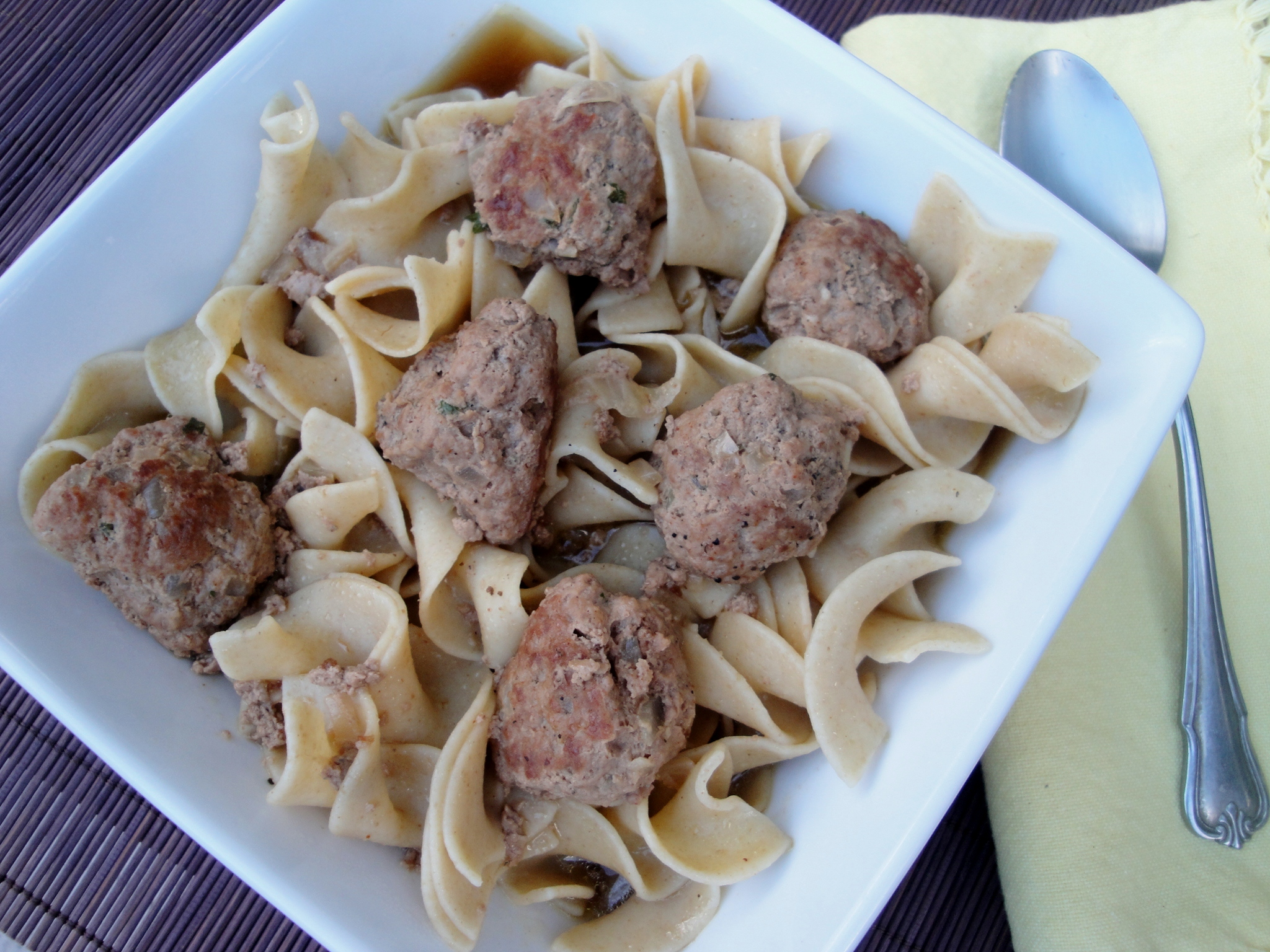 Hungarian Meatballs with Noodles | Creative Kitchen
