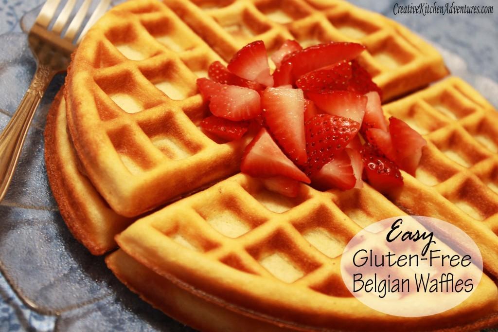 Easy Gluten-Free Belgian Waffles