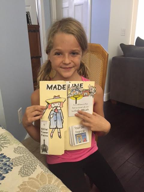 Madeline lapbook